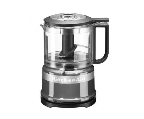 KitchenAid Mini Food Processor 3.5 Cup - Contour Silver