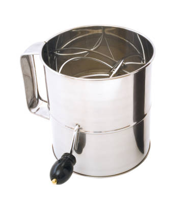Cuisena Flour Sifter (Crank Handle) - 8 Cup
