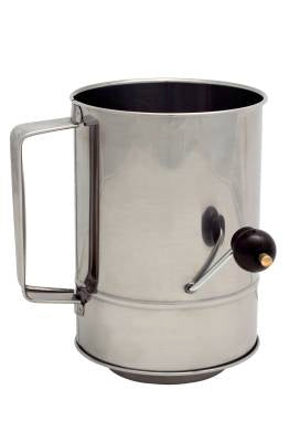 Cuisena Flour Sifter (Crank Handle) - 5 Cup