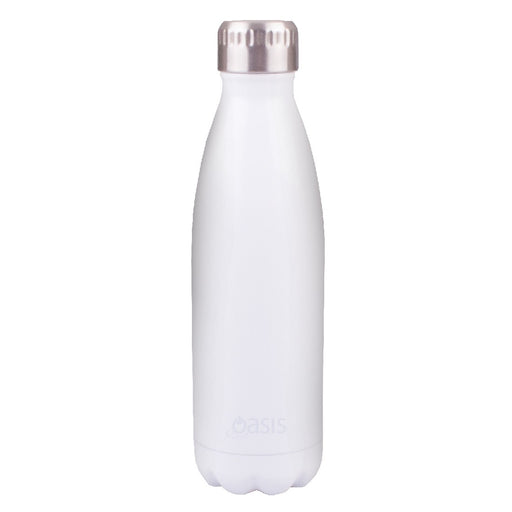 Oasis S/S Insulated Drink Bottle 500ml - White