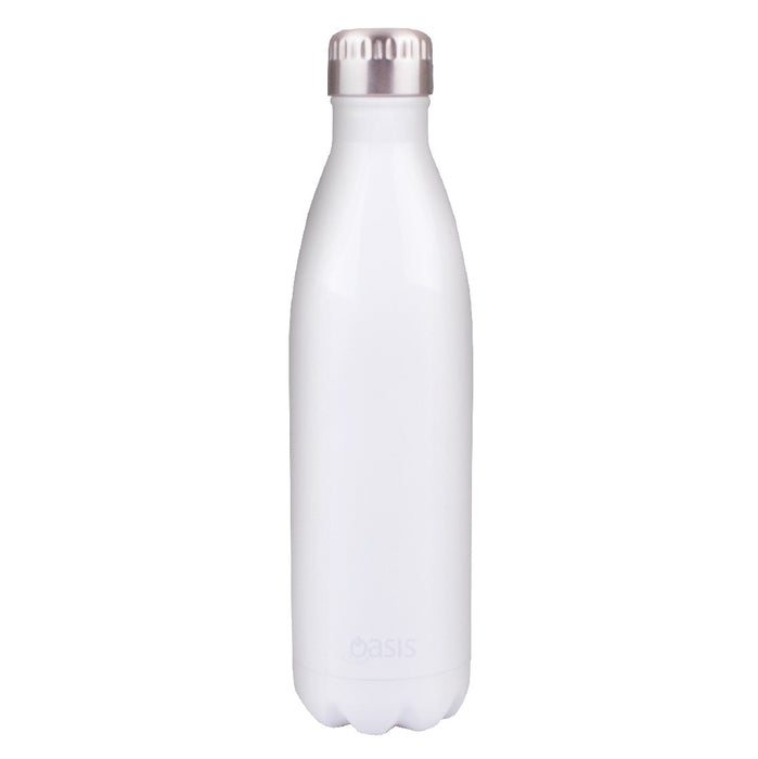 Oasis S/S Insulated Drink Bottle 750ml - White