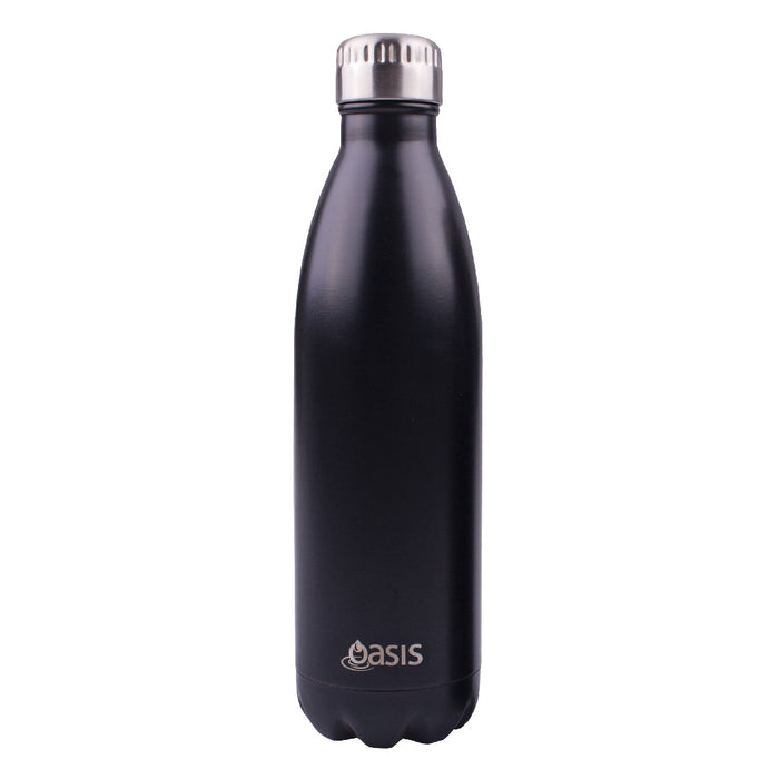 Oasis S/S Insulated Drink Bottle 750ml - Matt Black