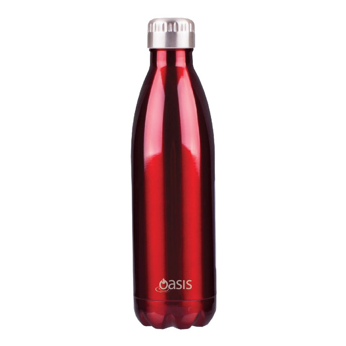 Oasis S/S Insulated Drink Bottle 750ml - Red