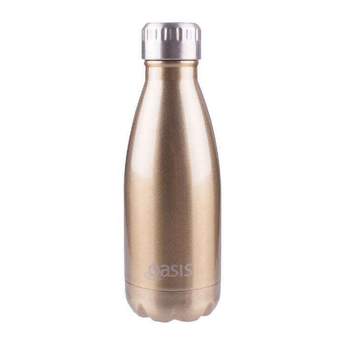 Oasis S/S Insulated Drink Bottle 350ml - Champagne