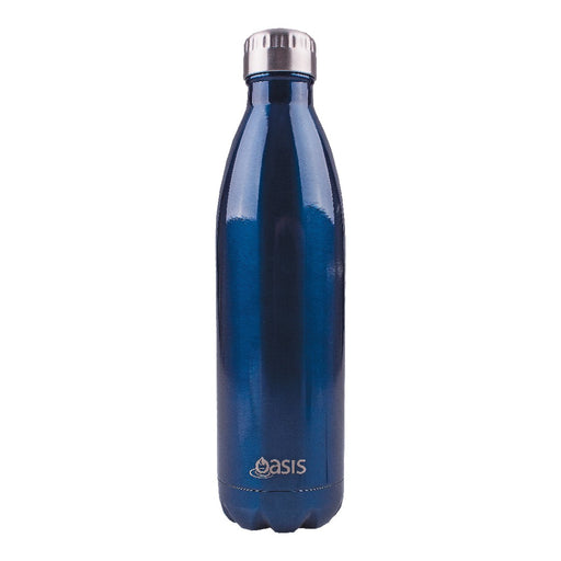 Oasis S/S Insulated Drink Bottle 750ml - Navy