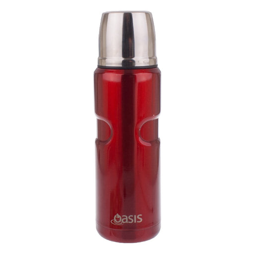 Oasis S/S Vacuum Insulated Flask 500ml - Red