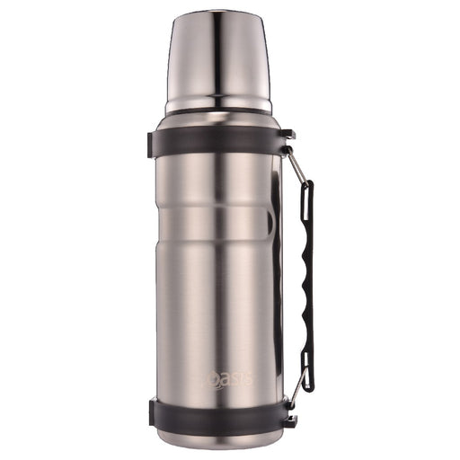 Oasis S/S Vacuum Insulated Flask 1L - Silver