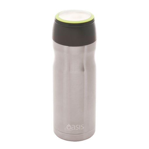 Oasis S/S Vacuum Insulated Travel Mug 414ml - Tea