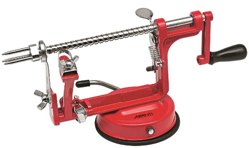 Avanti Apple Peeler, Corer and Slicer (slinky) - Red
