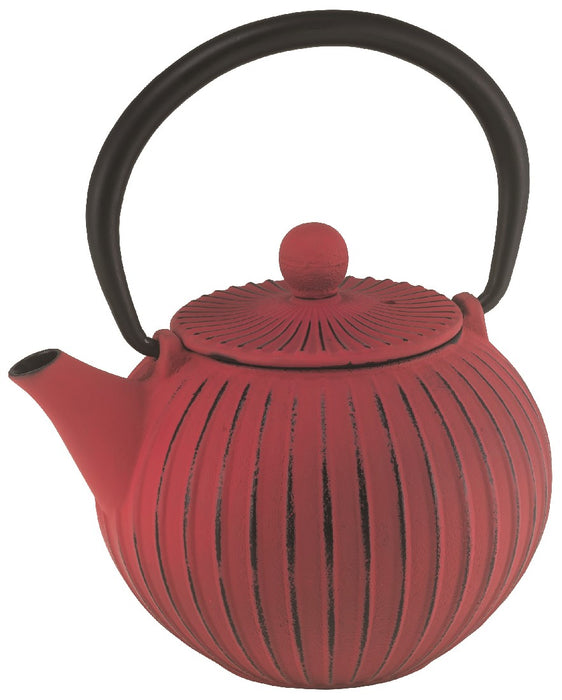 Avanti Ribbed Cast Iron Teapot - 500ml