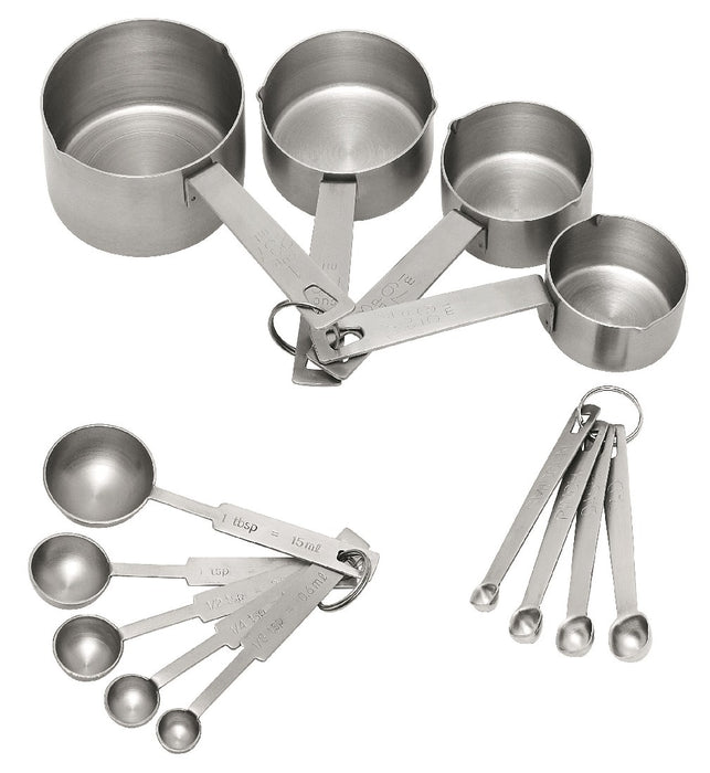 Avanti Bakers Dozen Measuring Set - Stainless Steel