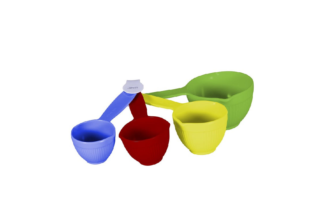 Avanti Ribbed Measuring Cups - Primary Colours