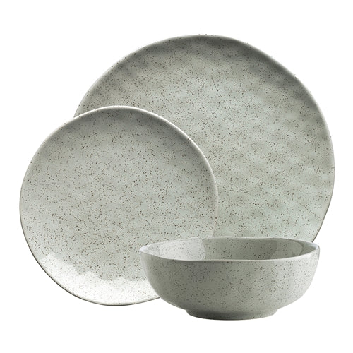 Ecology Speckle Dinnerset 12cp - Duckegg
