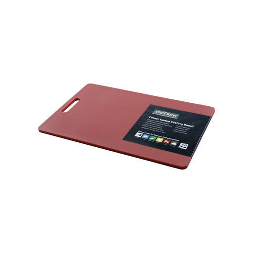 Chef Inox HACCP Cutting Board 300x450mm - Red