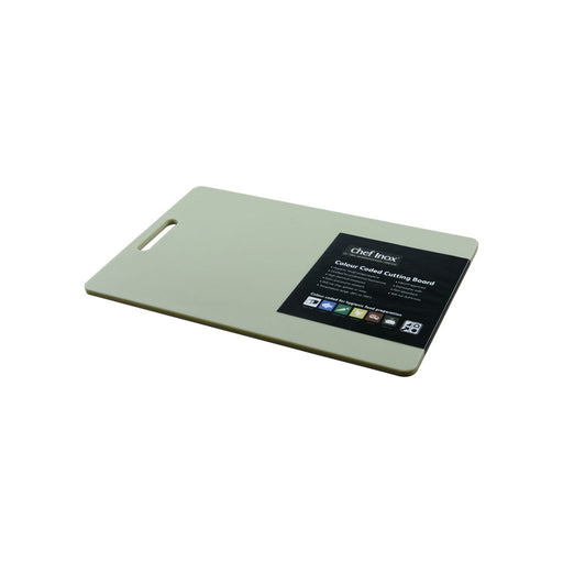 Chef Inox HACCP Cutting Board 300x450mm - Brown