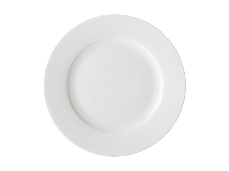 MW White Basics Rim Dinner Plate 27.5cm