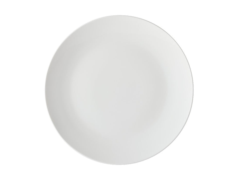 MW White Basics Coupe Side Plate 19cm