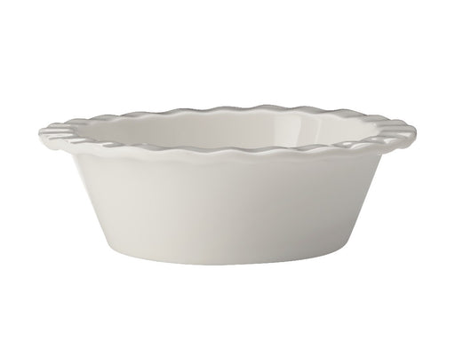 MW Epicurious Fluted Pie Dish Mini 12.5x4cm White