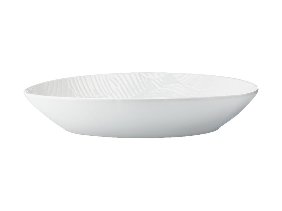 MW Panama Oval Serving Bowl 32x23cm White Gift Boxed