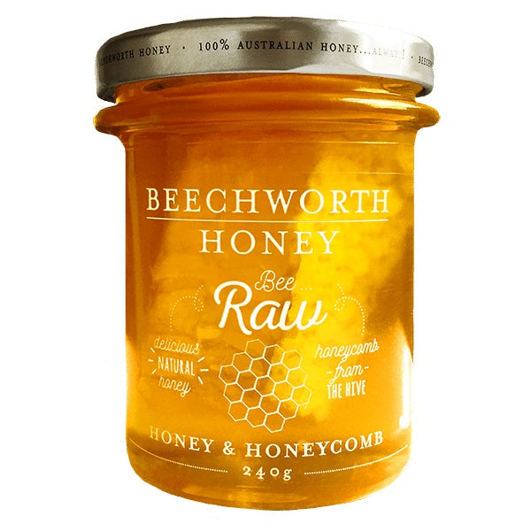 Beechworth Honey Bee Raw Honey and Honeycomb 325g