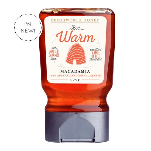 Beechworth Bee Warm Macadamia 400g