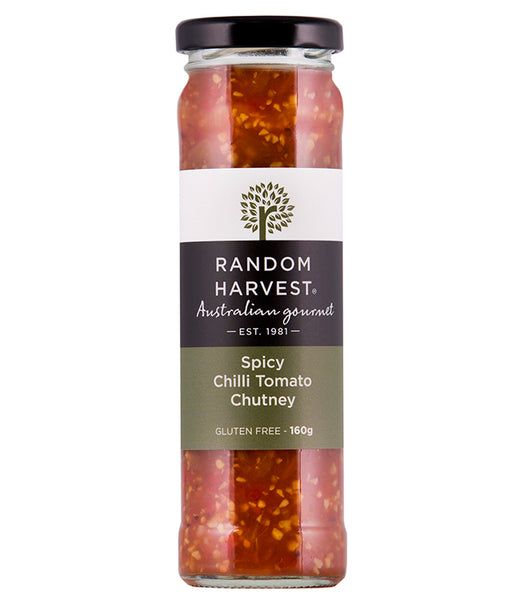 Random Harvest Spicy Chilli Tomato Chutney 160gm