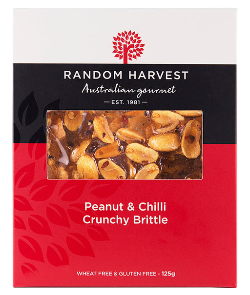 Random Harvest Peanut Brittle & Chilli 125gm
