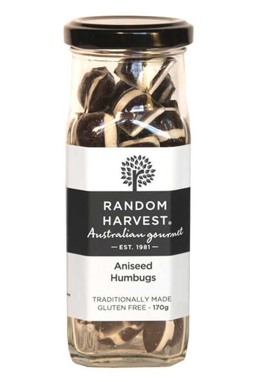 Random Harvest Aniseed Humbugs 170gm