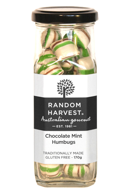 Random Harvest Chocolate Mint Humbugs 170gm