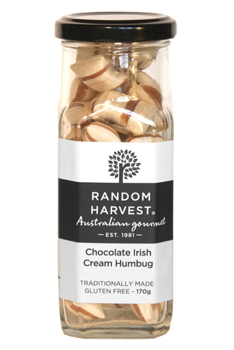 Random Harvest Chocolate Irish Cream Humbugs 170gm
