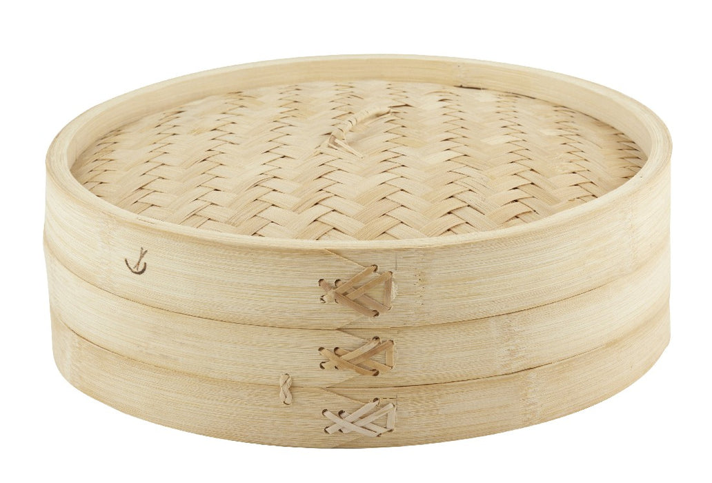 Asia One Bamboo Steamer 30cm - 1 Tier