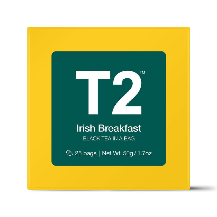 T2 Tea Bags 25's - Irish Breakfast