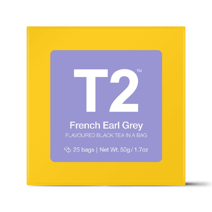 T2 Tea Bags 25's - French Earl Grey