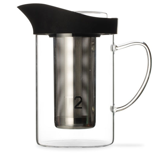 T2 Glass Jug-A-Lot 1.0lt - Black