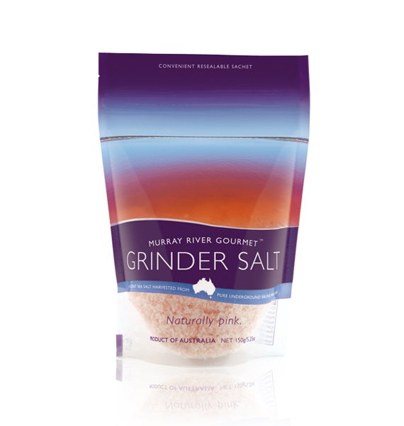 Murray River Grinder Salt Pouch 150gm