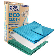 White Magic Microfibre Eco Cloth - Household Value Pack