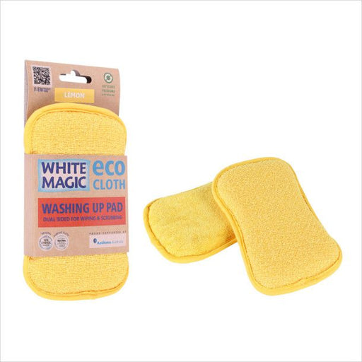 White Magic Washing Up Pad - Lemon