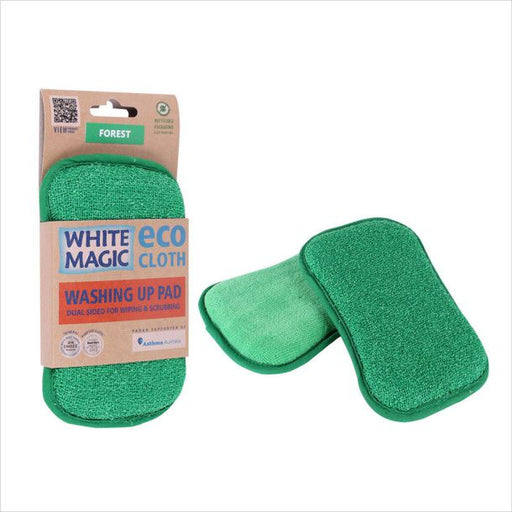 White Magic Washing Up Pad - Forest
