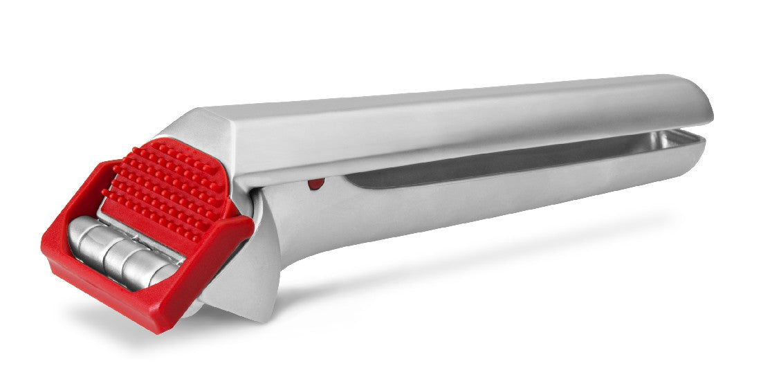 Dreamfarm Garject Garlic Crusher -  Fire Truck Red