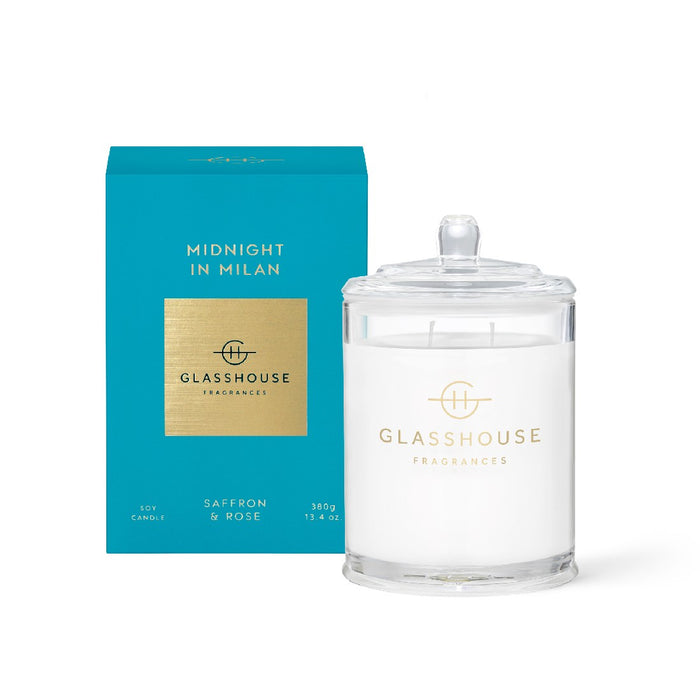 Glasshouse Candle 350g - Midnight in Milan