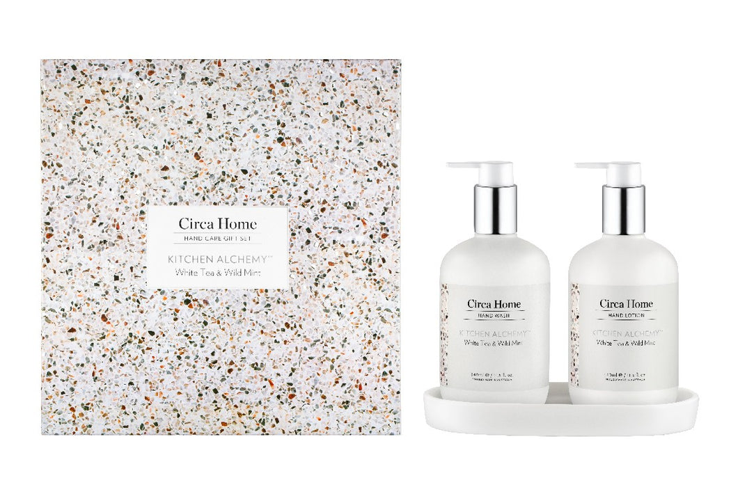 Circa Home Hand Wash & Lotion 680ml - Kitchen Range - White Tea & Wild Mint