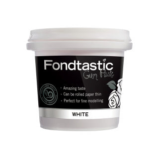 Fondtastic Rolled Fondant 226g - Vanilla Flavoured - White