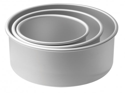 Mondo Round Deep Cake Tins Set of 3