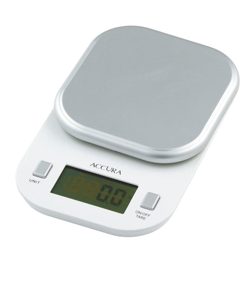 Accurra Pyxis Diet Scale 1kg - White
