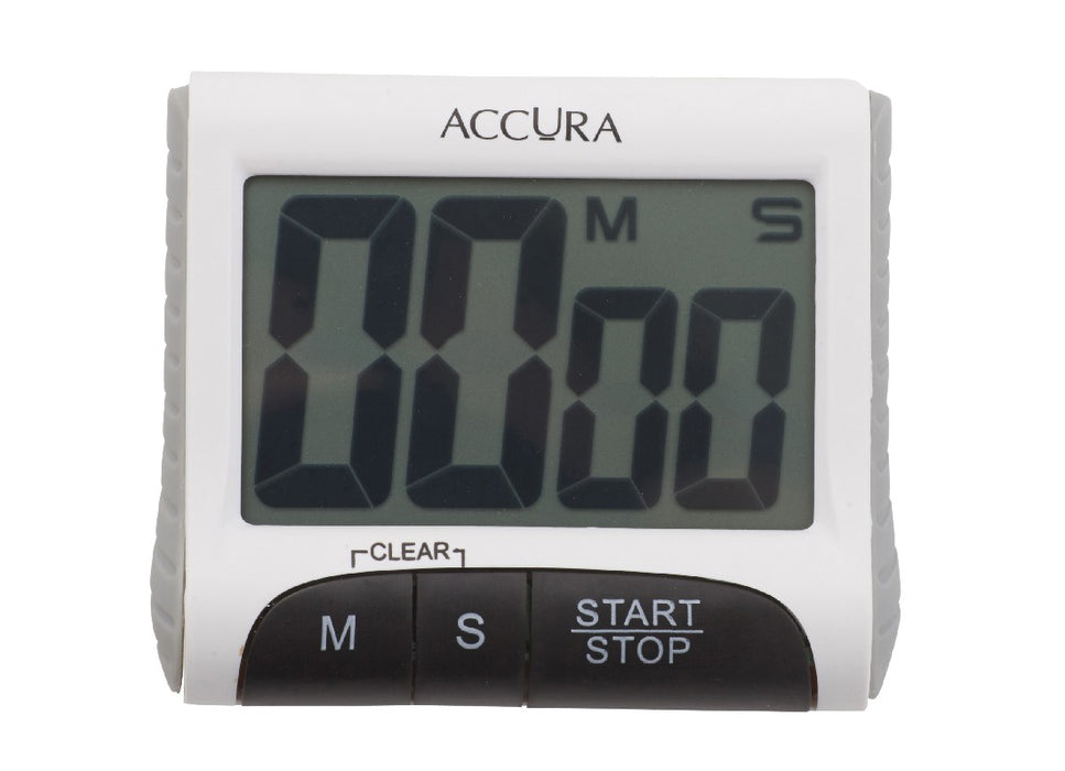 Accura Digital Timer 99 min 59 sec - White