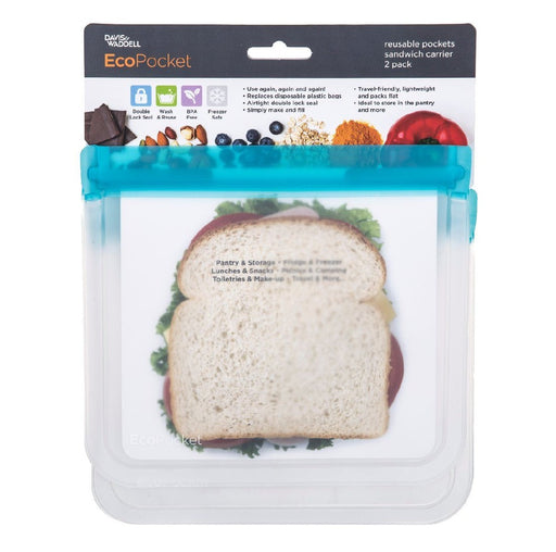 Ecopocket Set of 2 - Sandwich - Blue