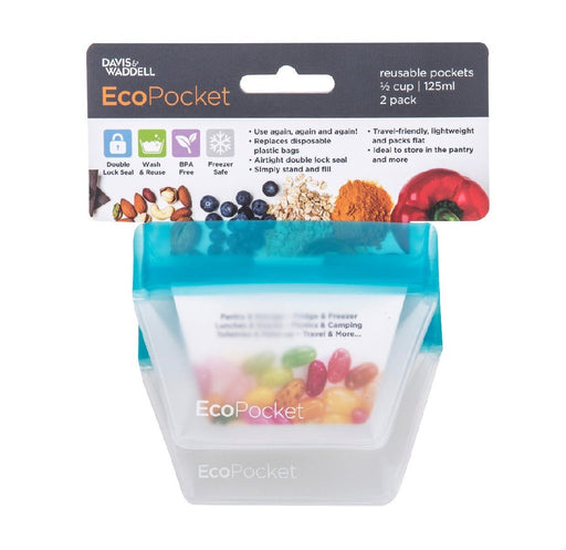 Ecopocket Set of 2 - 1/2 Cup - Blue