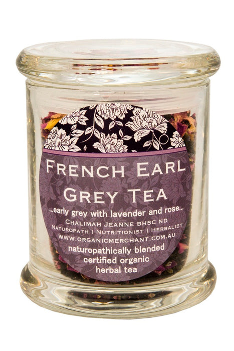 Organic Merchant French Earl Grey Tea - Jar