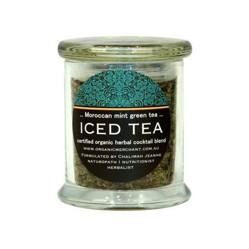 Organic Merchant Moroccan Mint Tea - Jar