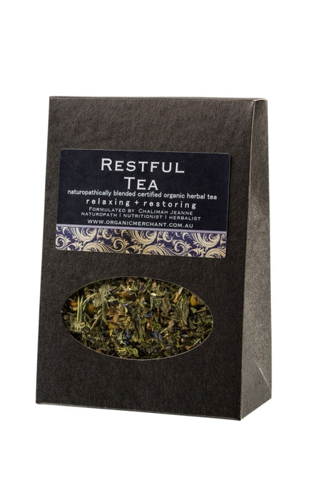 Organic Merchant Restful Tea - Box